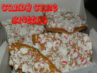 Candy Cane Brittle