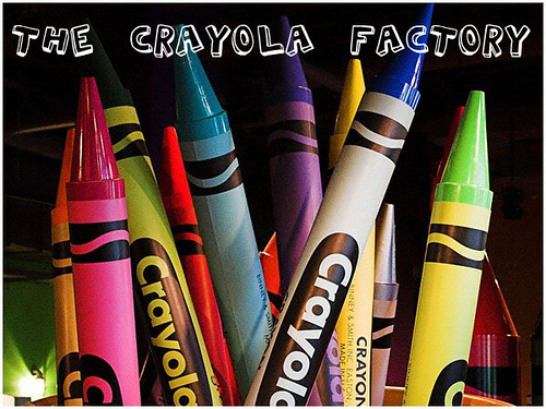 your three words | the crayola factory