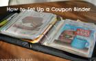 how to set up a coupon binder
