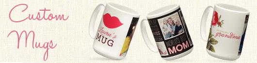 Shutterfly Custom Mugs
