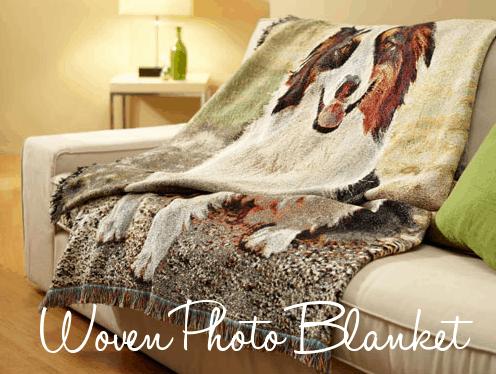 shutterfly woven photo blanket
