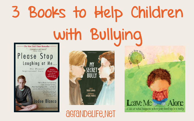 3 books to help children with bullying