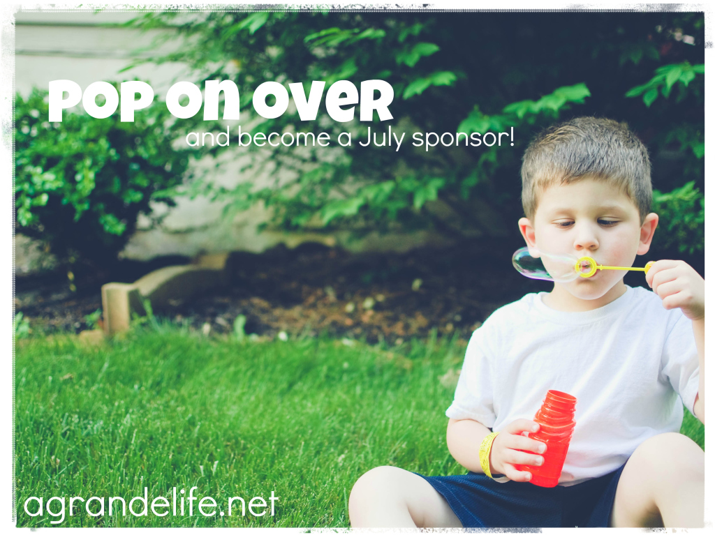 a grande life blog sponsors