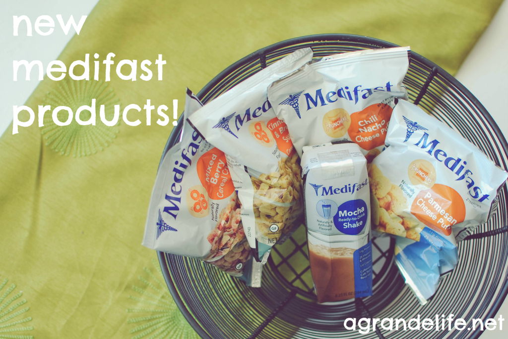 new medifast products
