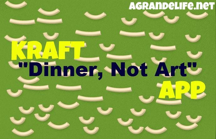 kraft dinner not art app