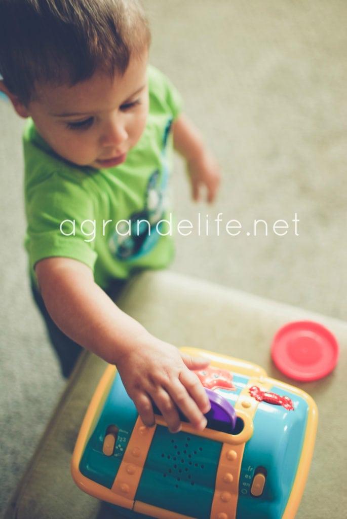 baby einstein treasure chest