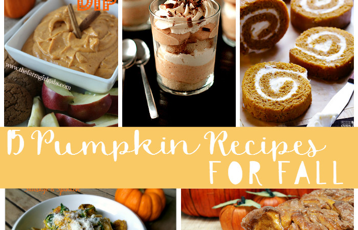 pumpkin recipes featured