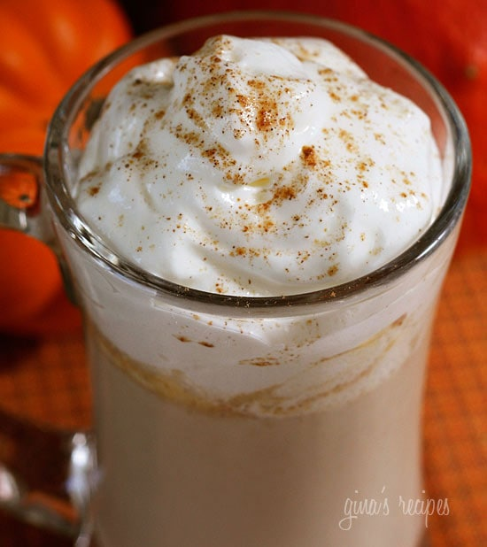 skinny pumpkin spice latte