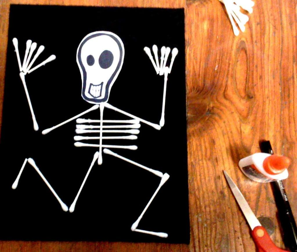 skeleton flag