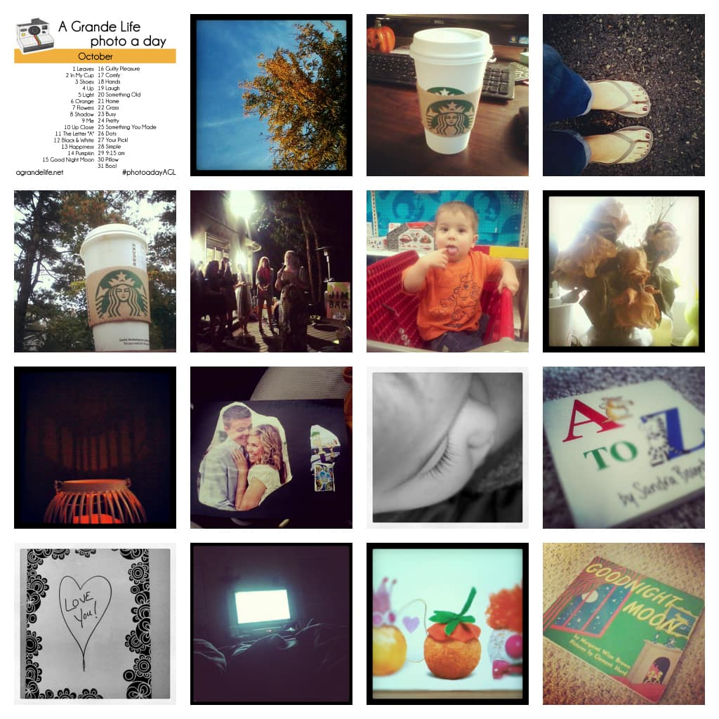 october #photoadayagl