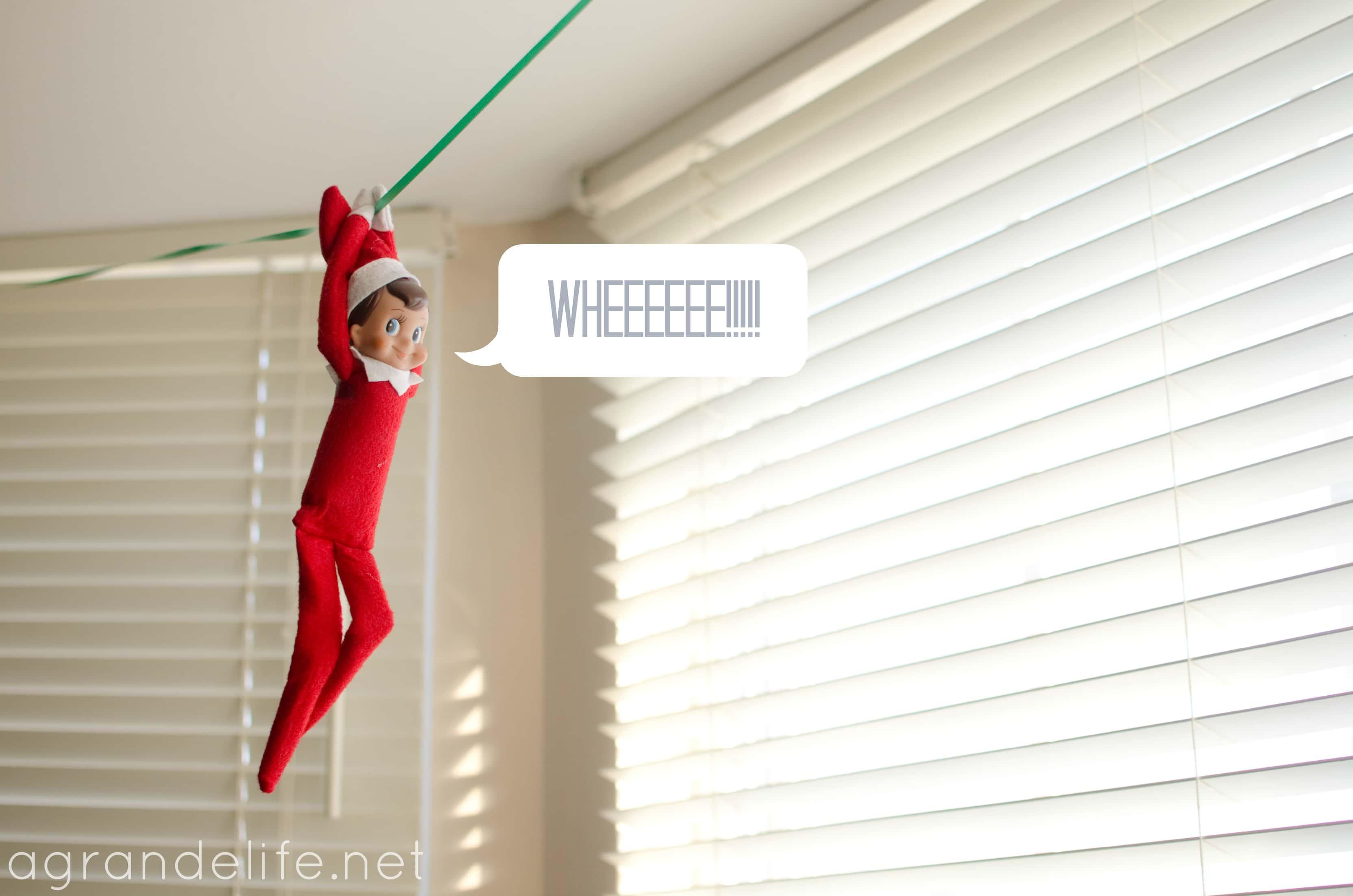Calendar Ideas Zip : The elf on shelf