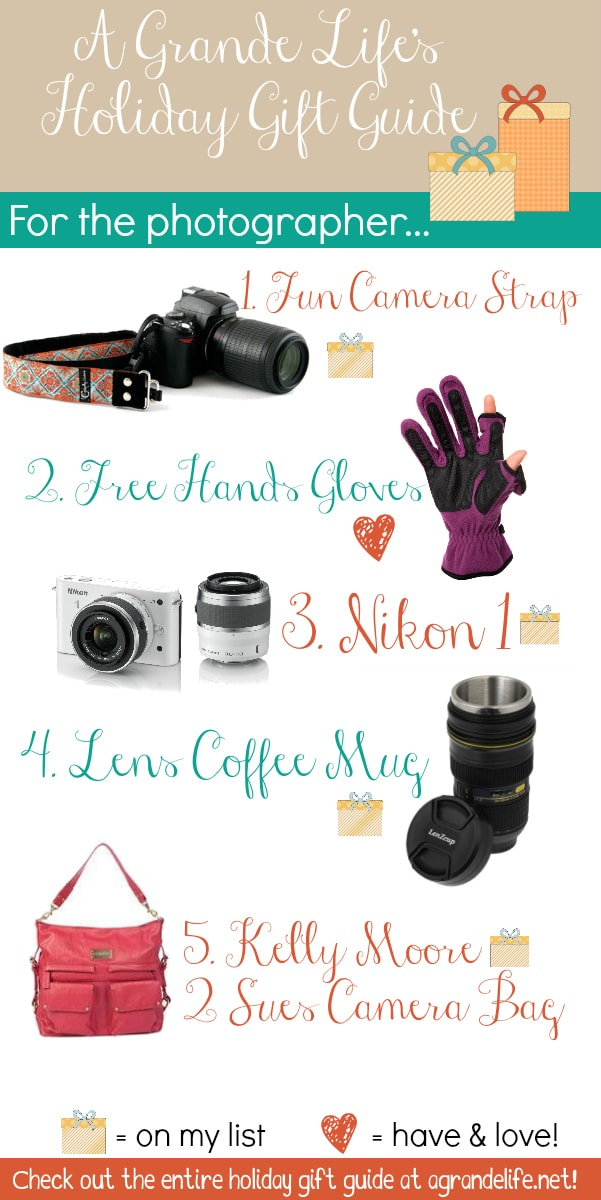 top 5 gifts for photographers this holiday season