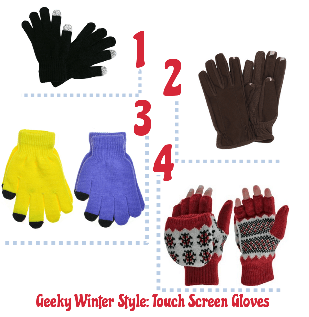 geeky winter style touch screen gloves1