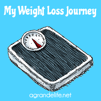 my weight loss journey badge