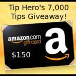 Celebrate Tip Hero's 7000 Tip and Win a $150 Amazon Gift Card