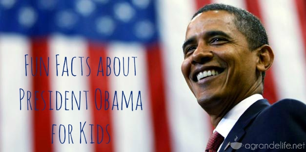 Fun Facts about President Obama for Kids