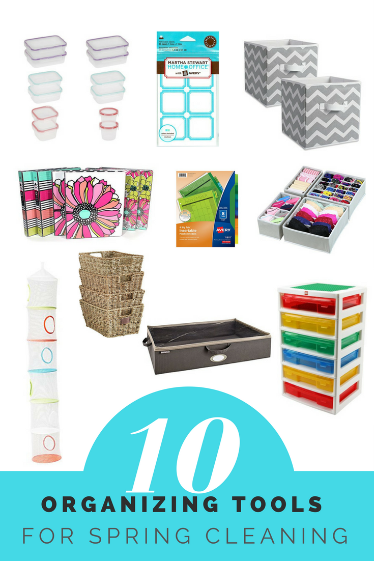 10 organizing tools for spring cleaning