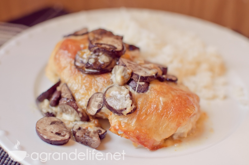 Muenster Chicken & Mushrooms | A Grande Life
