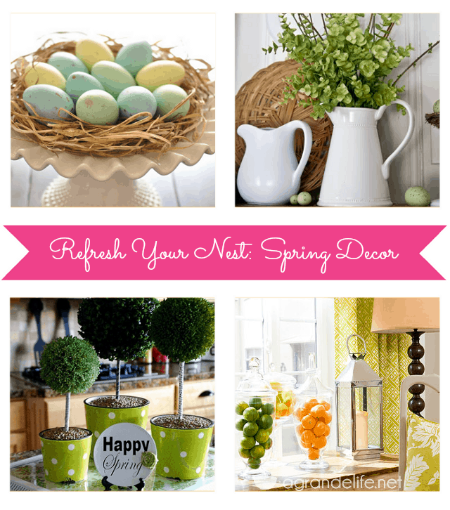 Spring Decor Ideas | A Grande Life