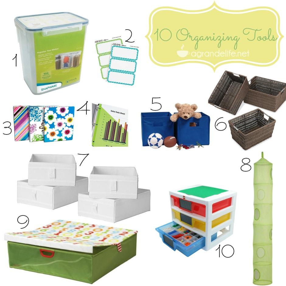 10 organizing tools
