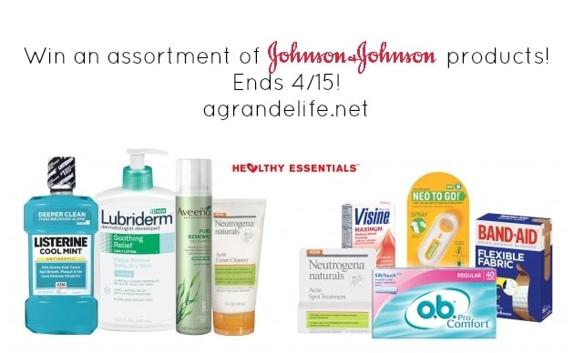 johnson & johnson healthy essentials giveaway