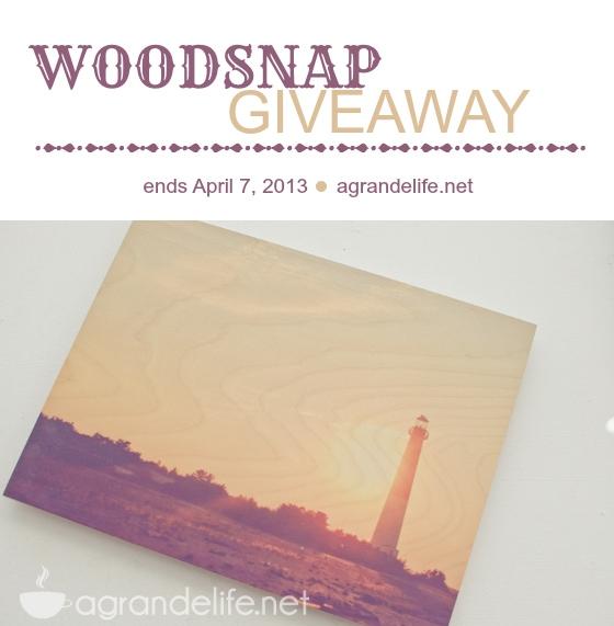 woodsnap giveaway