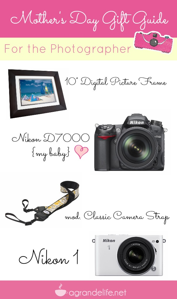 mothers day gift guide for the photographer