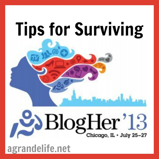 tips for surviving blogher 13