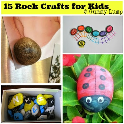 15 rock crafts for kids