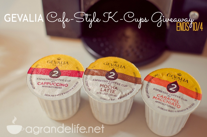 gevalia cafe-style k cups giveaway