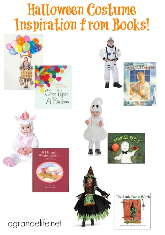 halloween costume inspiration from books