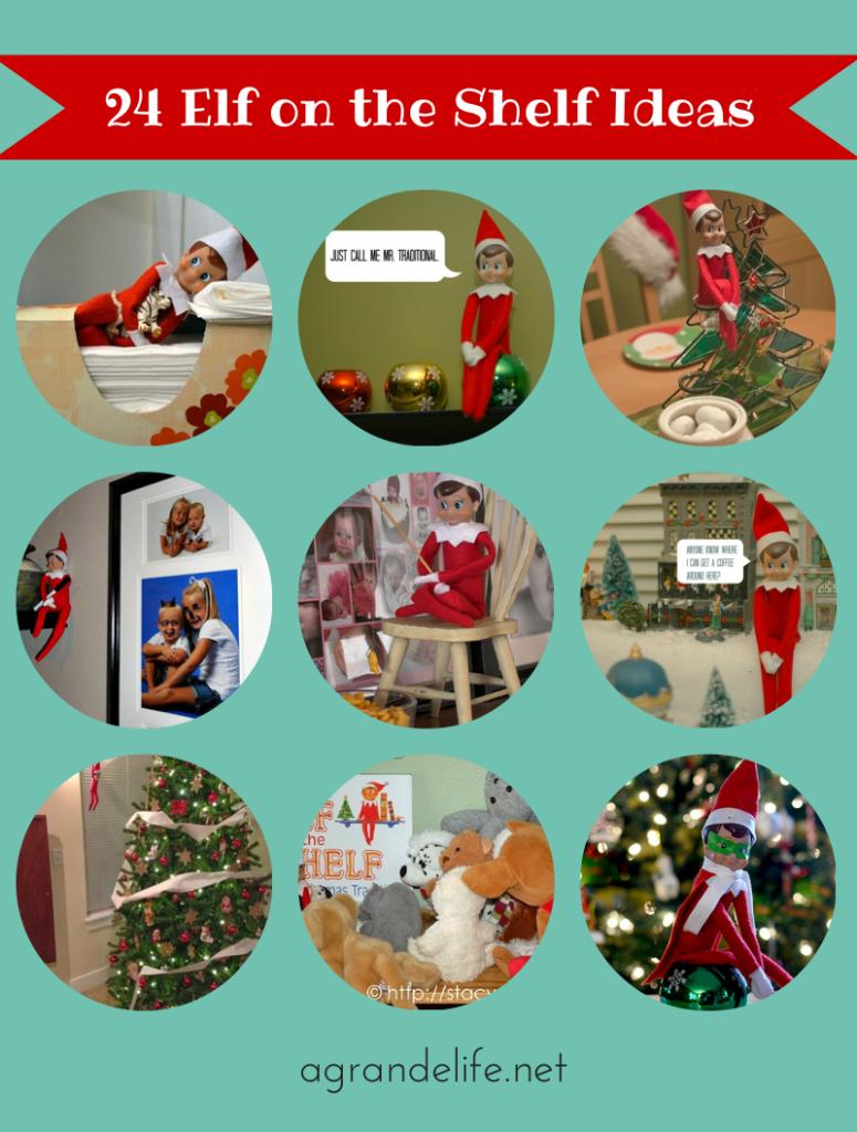24 Elf on the Shelf Ideas