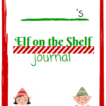 elf on the shelf journal page 1