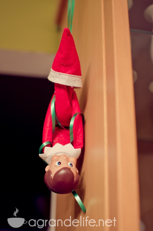 Elf On The Shelf Naughty Warning Letter A Grande Life