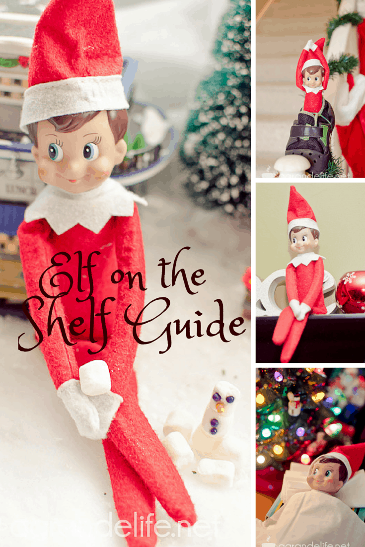 elf on the shelf guide