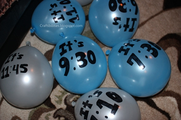 new years eve balloon countdown