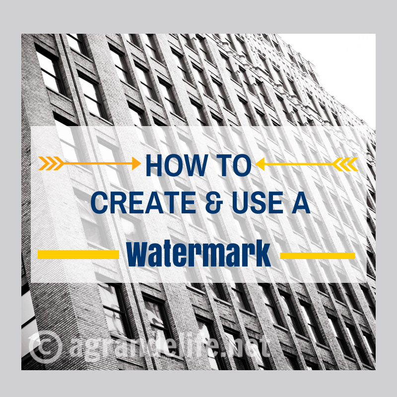 How to Create Use a Waterm