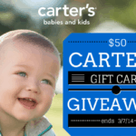 $50 carters gift card giveaway