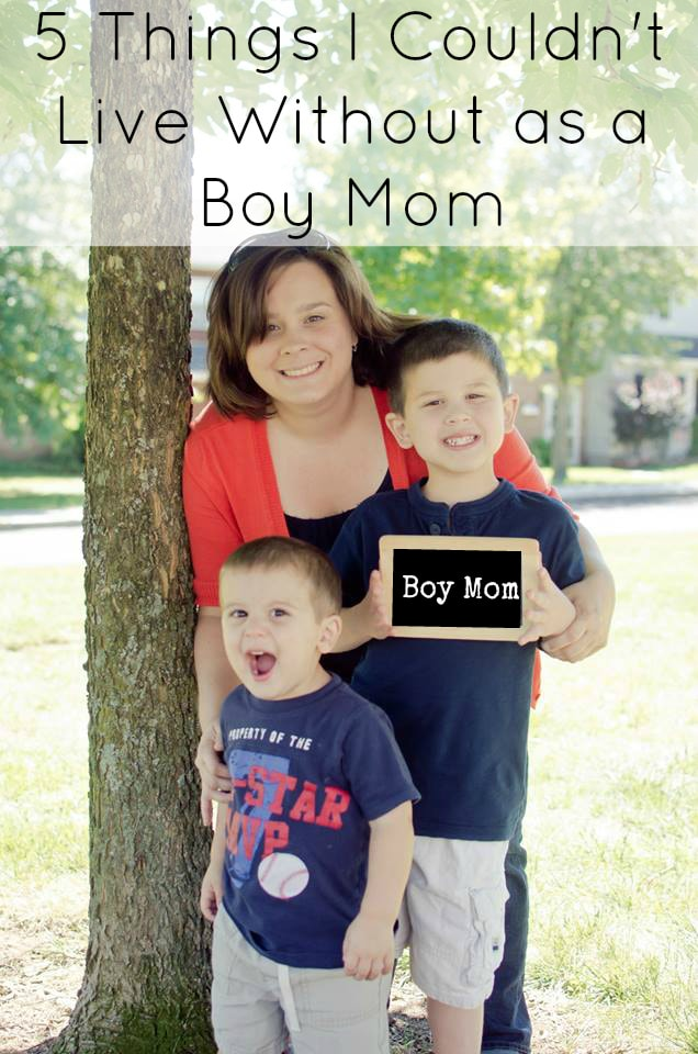 5 Things I Couldn't Live Without as a Boy Mom