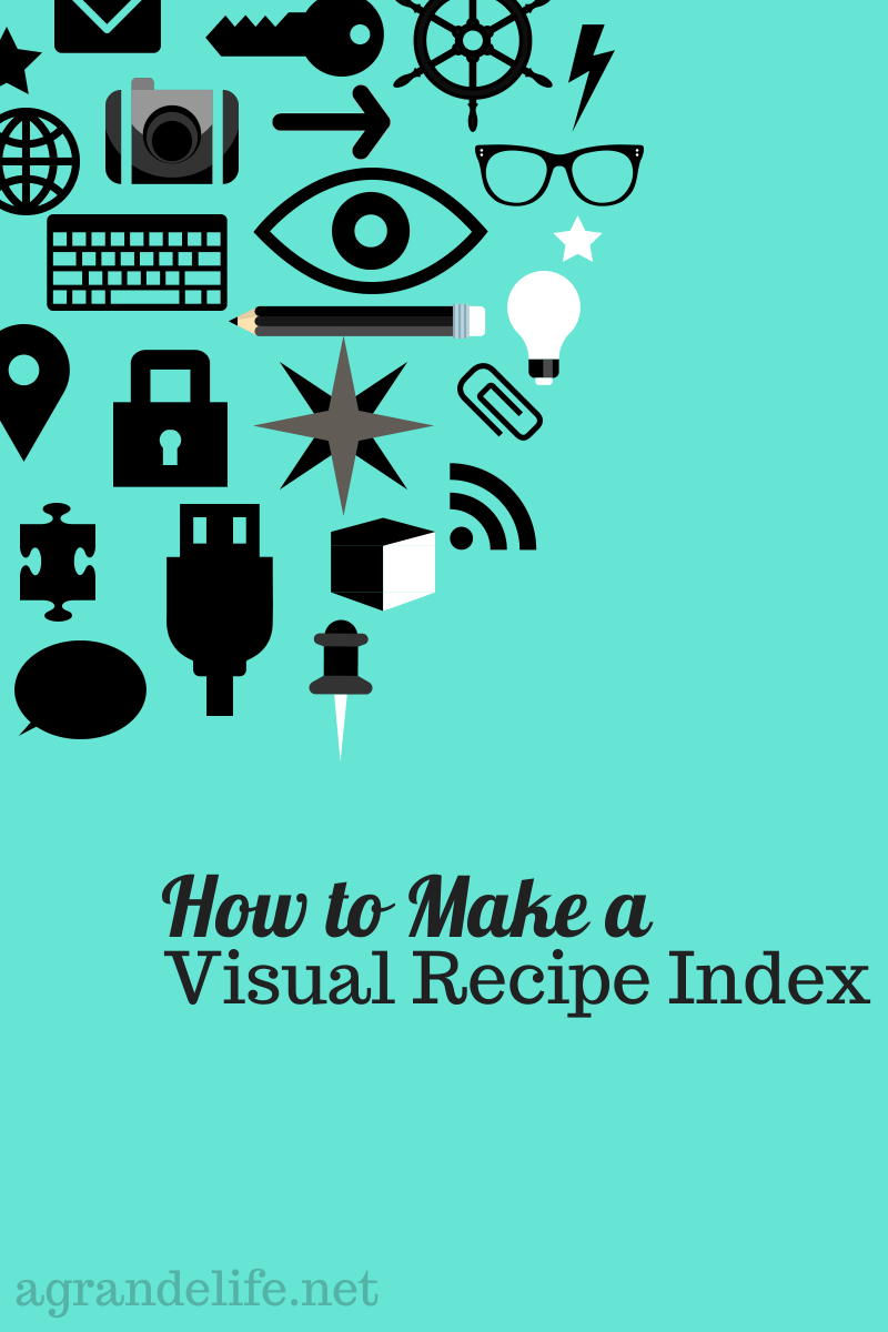 How to Make a Visual Recipe Index