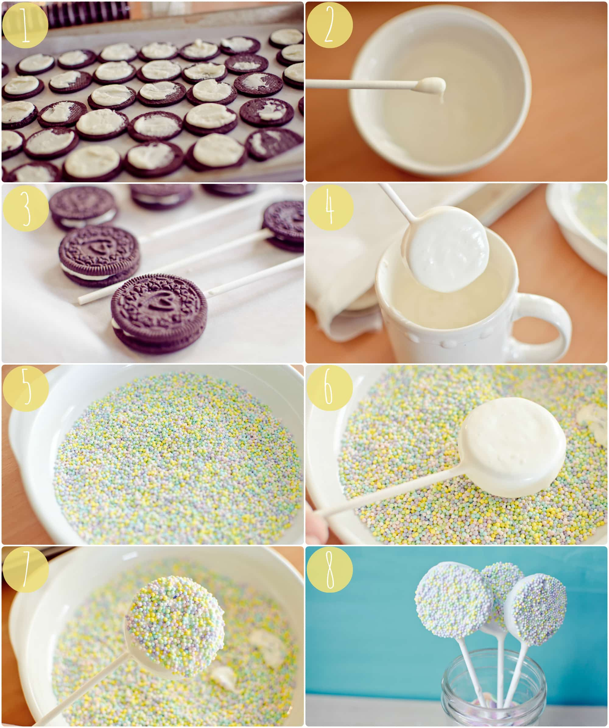 How to oreo pops