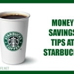 money saving tips at starbucks