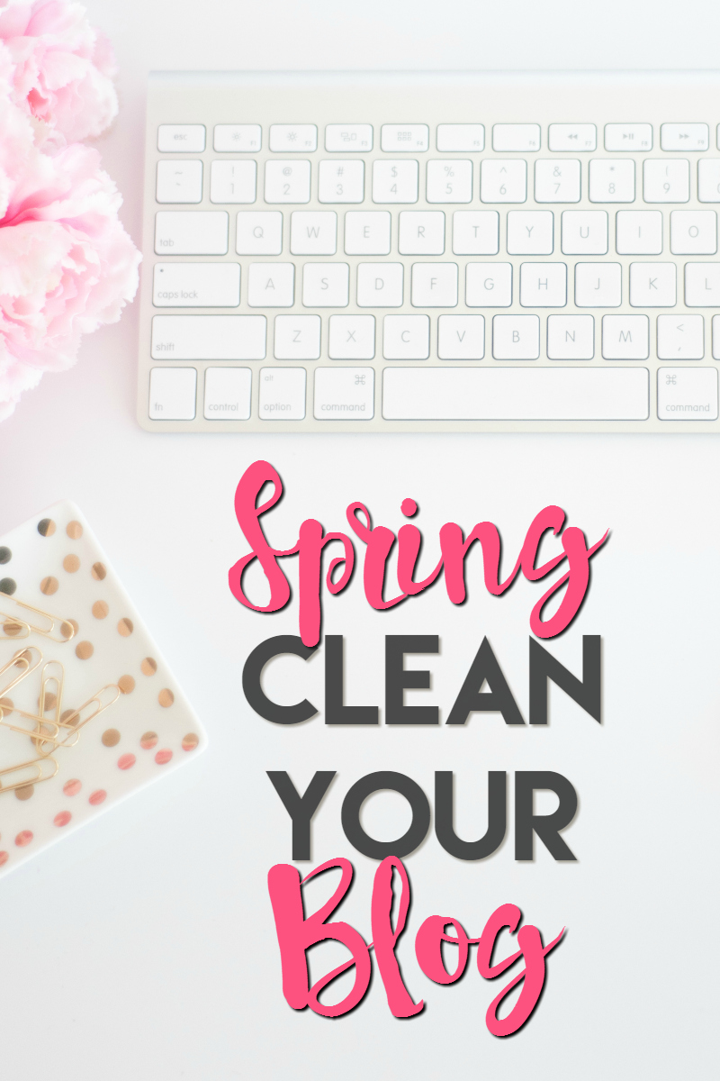 spring clean your blog 2