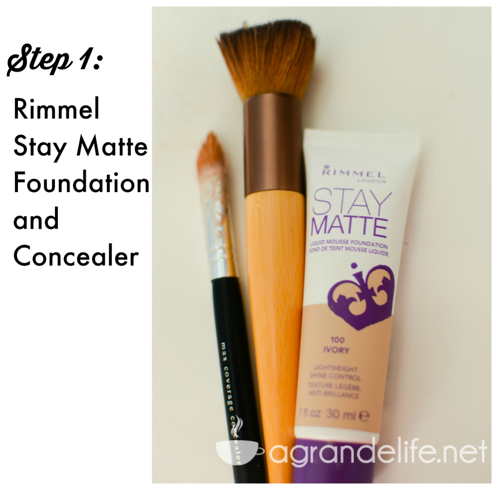 5 minute makeup routine with rimmel stay matte and scandaleyes #shop