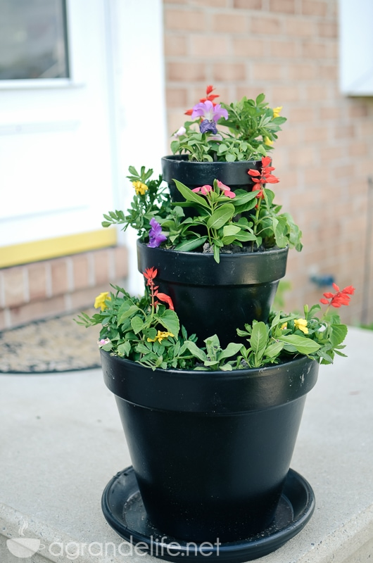 stacked flower pots-3
