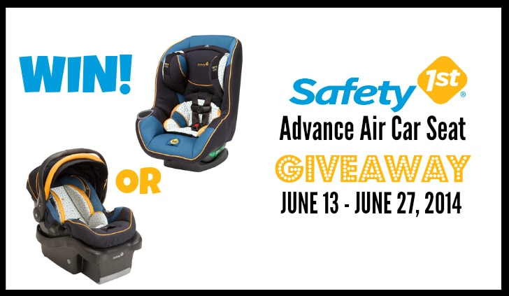 SAFETY 1ST ADVANCE AIR CAR SEAT GIVEAWAY