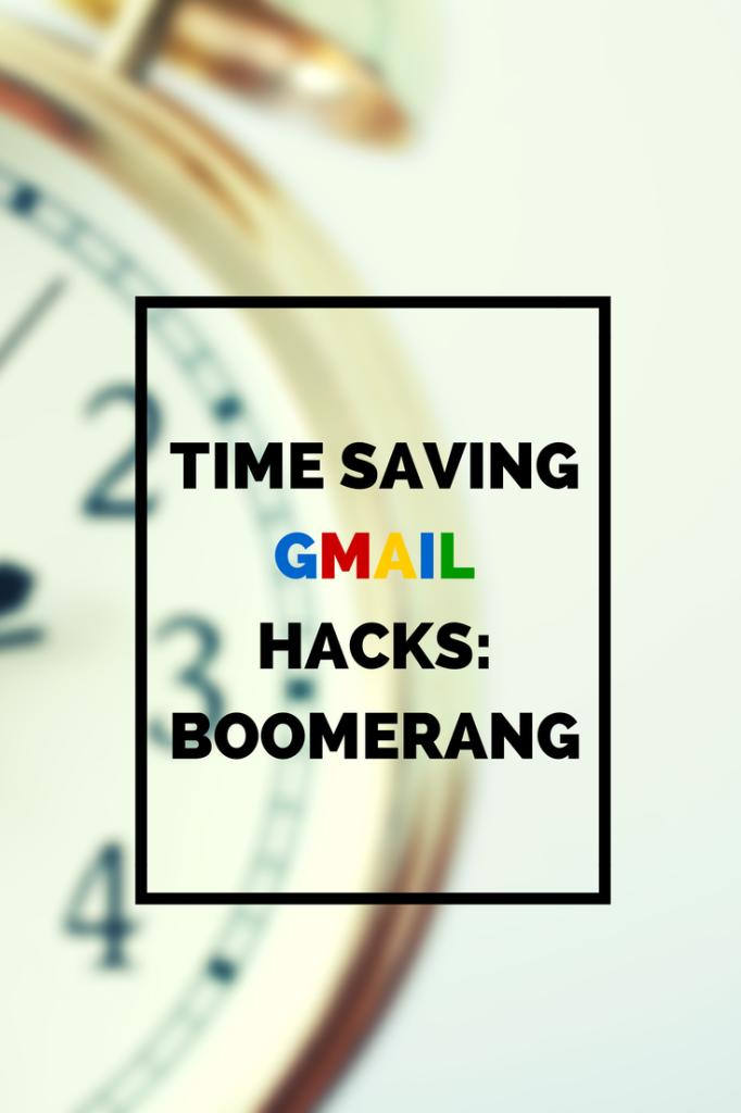 time saving gmail hacks