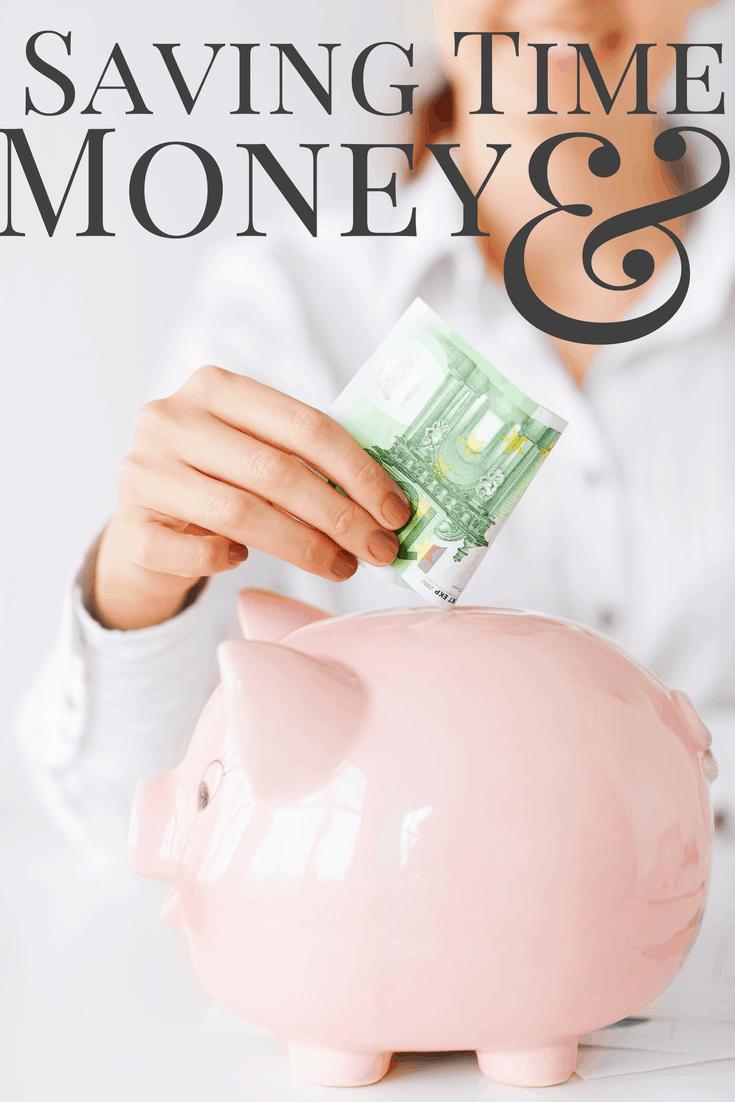 saving time and money