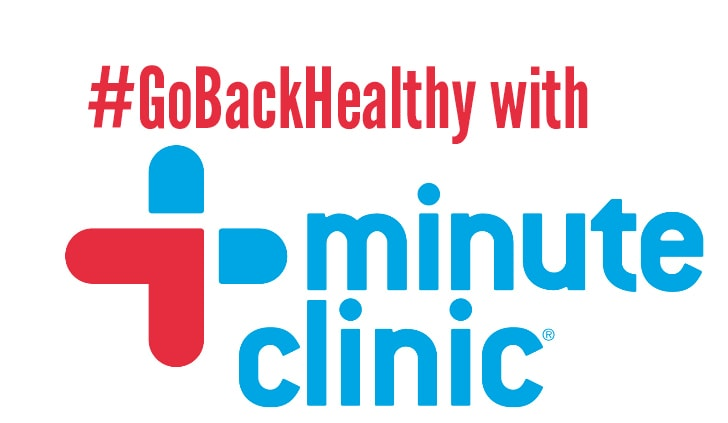#GoBackHealthy with CVS MinuteClinic