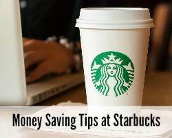money saving tips at starbucks